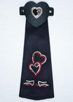 Double Heart Hair Tube - Biker Wear House