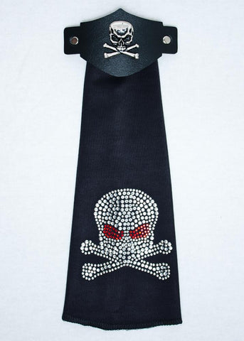 Sparkling Skull Hair Tube - Biker Wear House