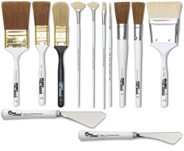 All Ross Landscape Brushes & Knives
