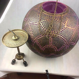 Vintage Globe Chandelier Ceiling Light Handmade Moroccan Style Hanging Lamp New