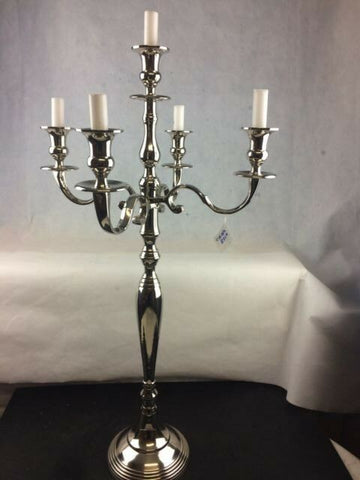 Classic Home Wedding Decor Candle Holder 5 Arm Vintage Traditional Candelabra