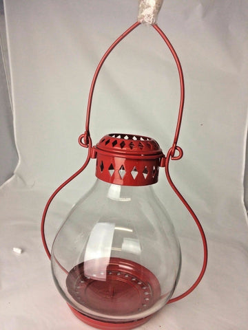Candle Holder Lamp Lantern Hanging Metal And Light Iron Home Decor Garden Style