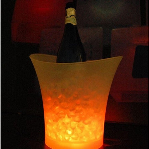 5 Litre Color Changing LED Waterproof Ice Bucket