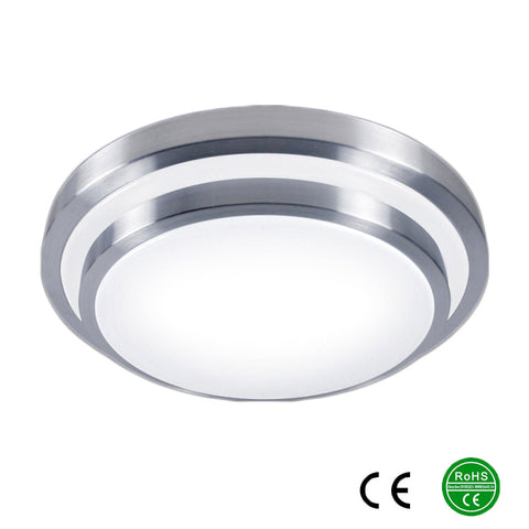 LED Aluminum White Ceiling Lights 15W 20W 30W