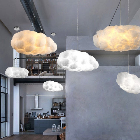 Creative Art Cloud LED Pendant Light Fixture