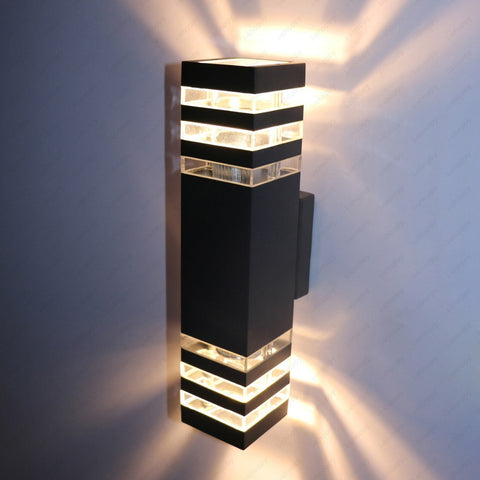 Dimmable Outdoor LED Wall Sconce Flood Lights