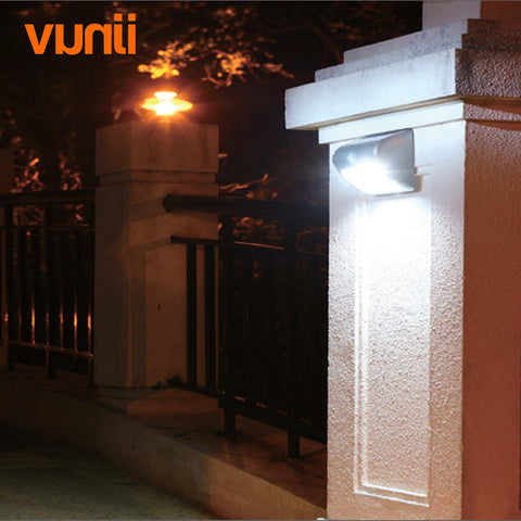Waterproof LED Dimmable Solar Light with PIR Motion Sensor