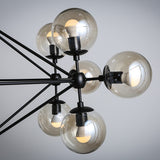 Vintage Modern Art Deco Glass Ball Pendant Lights