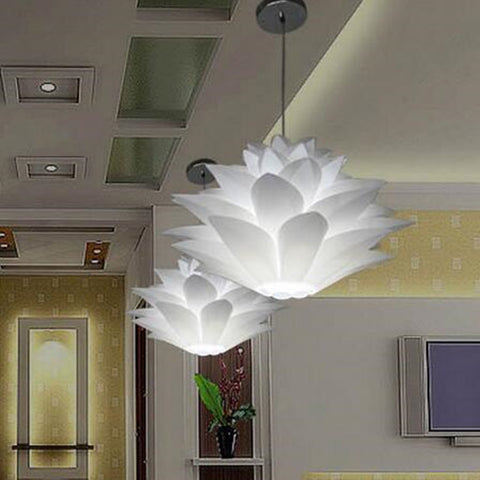 Lotus Flower LED pendant light (PVC diameter 40/60 CM)