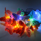 20 LED butterfly string light solar power Outdoor/indoor