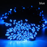 7m/12m/22m Solar Lamps  LED String Garlands Lights Solar fairy wedding Garden party lawn Lights Outdoor Waterproof