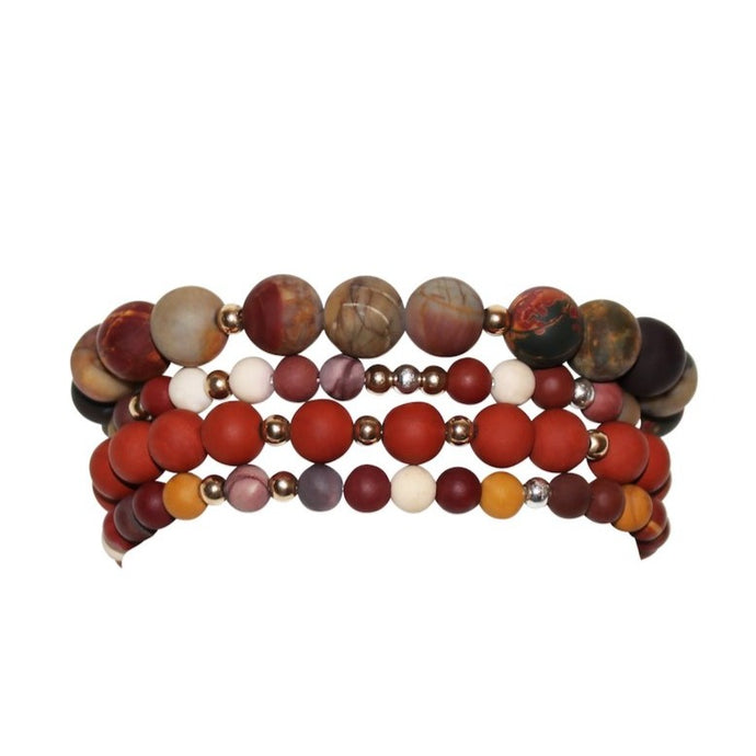 Kalahari Desert Set | Beaded Bracelets
