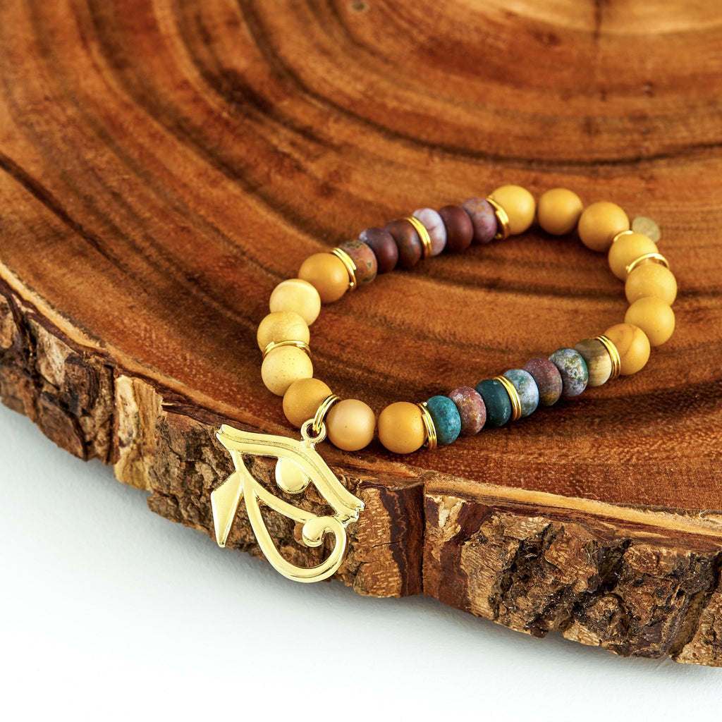 Horus' Eye | Beaded Bracelet