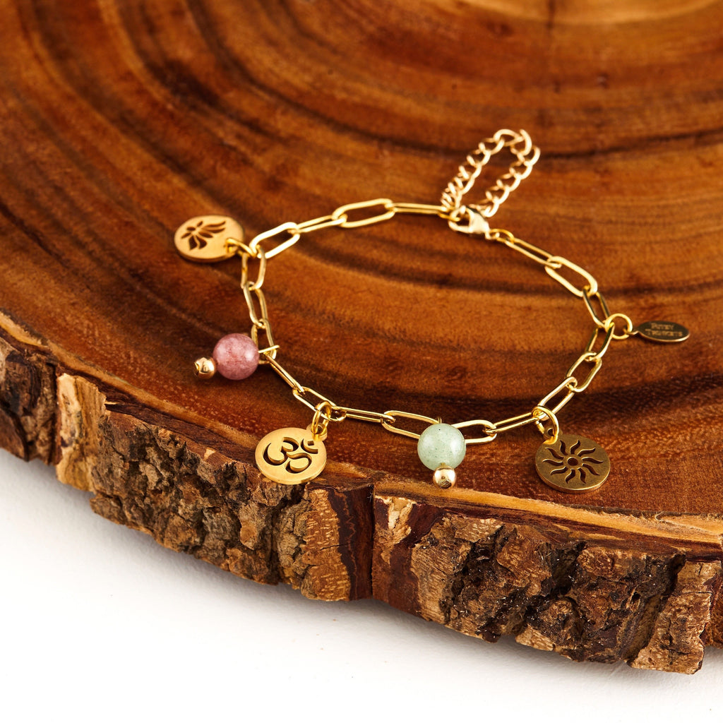 Burst of Yoga | Charm Bracelet/Anklet