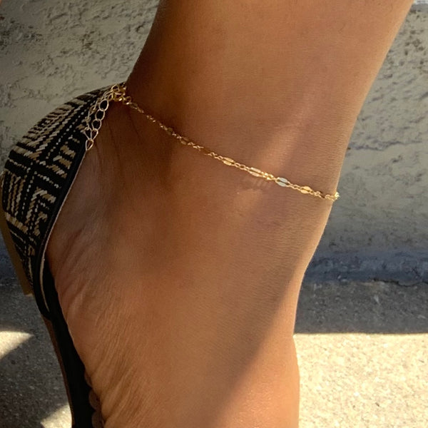 Skelly | Dainty Anklet
