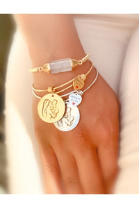 Dear Momma | Silver OR Gold | Charm Bracelet