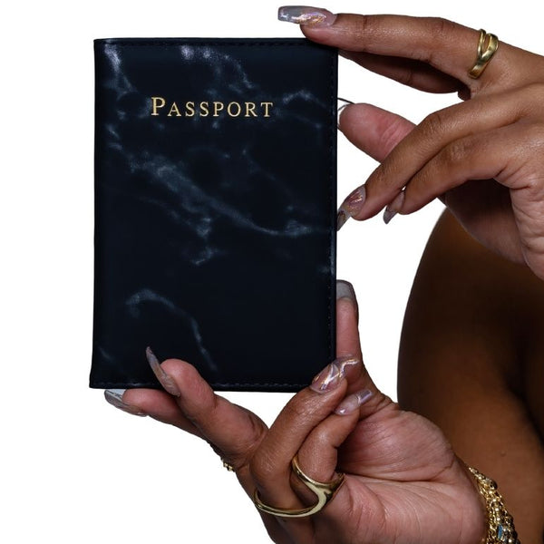 Noir Travels | Passport Cover