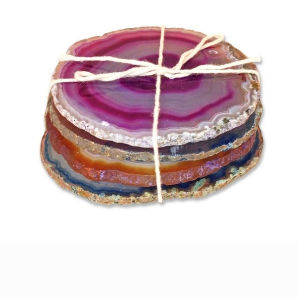 Agate You Covered | Crystal Coasters
