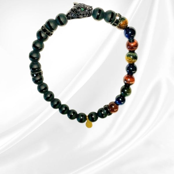 Dark Shadows | Beaded Bracelet