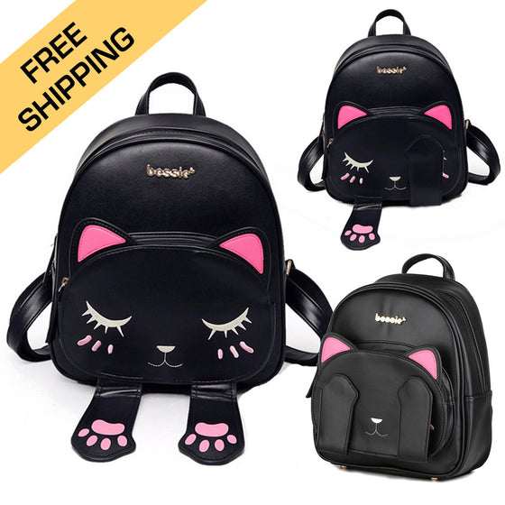 Cute Cat Ears Backpack