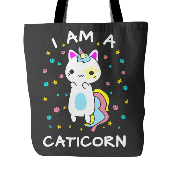 I AM A CATICORN - TOTE BAG