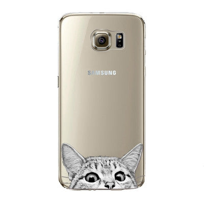 Cute Cat Samsung Cases