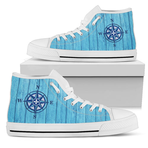 Compass Rose High-Tops Men's
