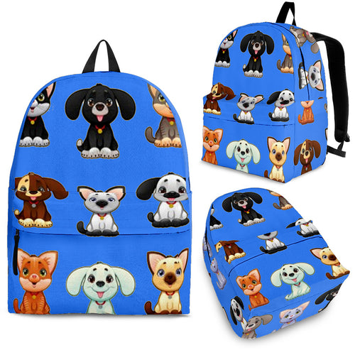 Cat-Dog Blue (3 Colors)