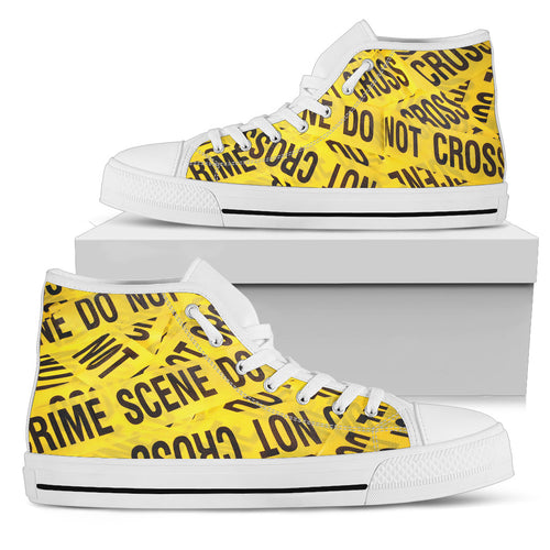 Crime Scene Men's High-Tops
