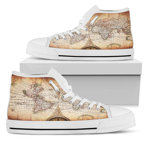 Around the World Men's High-Tops
