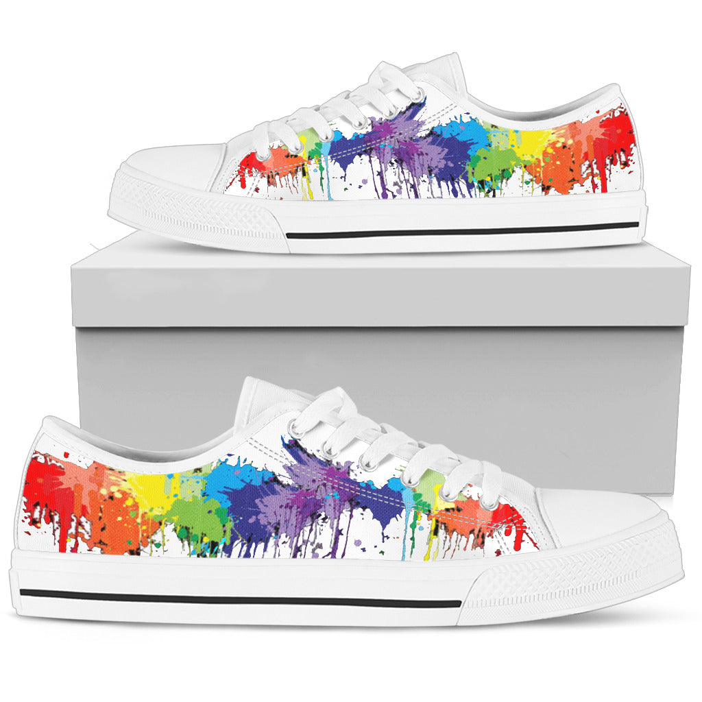 Painting the Town Men's Low-Tops