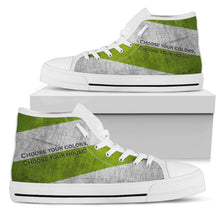 Slytherin House Colors High-Tops