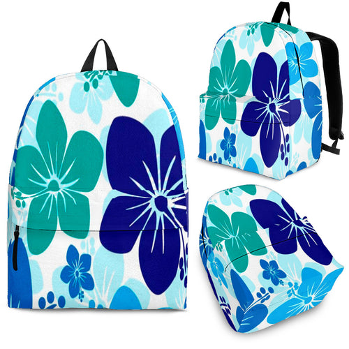 Blue Hawaiian Backpack (6 Colors)