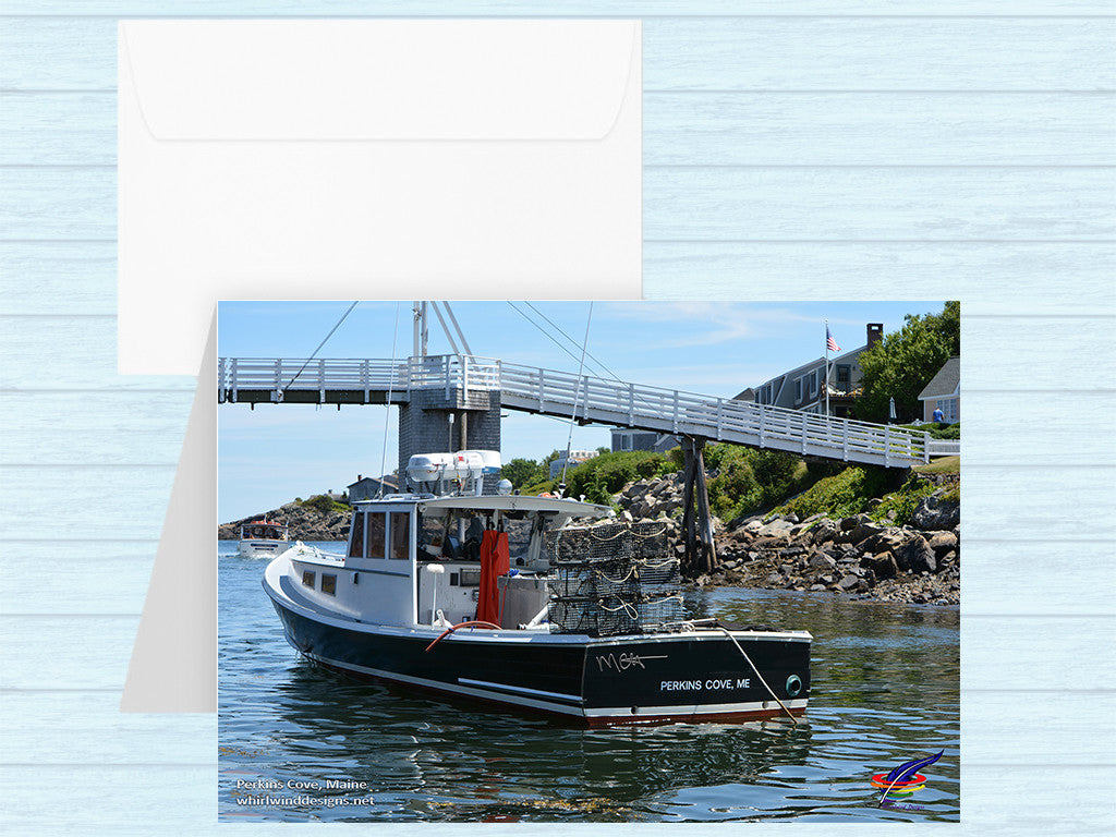Perkins Cove Note Card