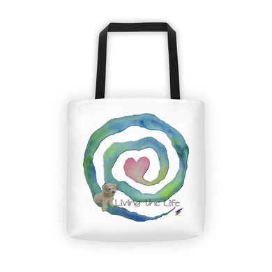 Heart Spiral Tote
