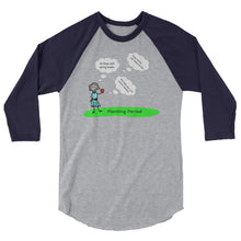 iTeach Planning Period 3/4 sleeve raglan shirt