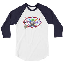 "Go Anywhere 3/4 sleeve raglan shirt ""Living the Life"""