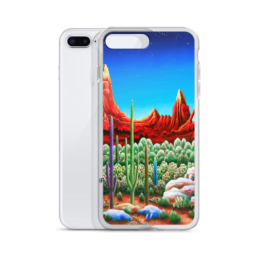 Desert Heat iPhone Case