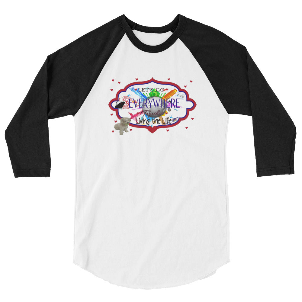 Go Anywhere 3/4 sleeve raglan shirt