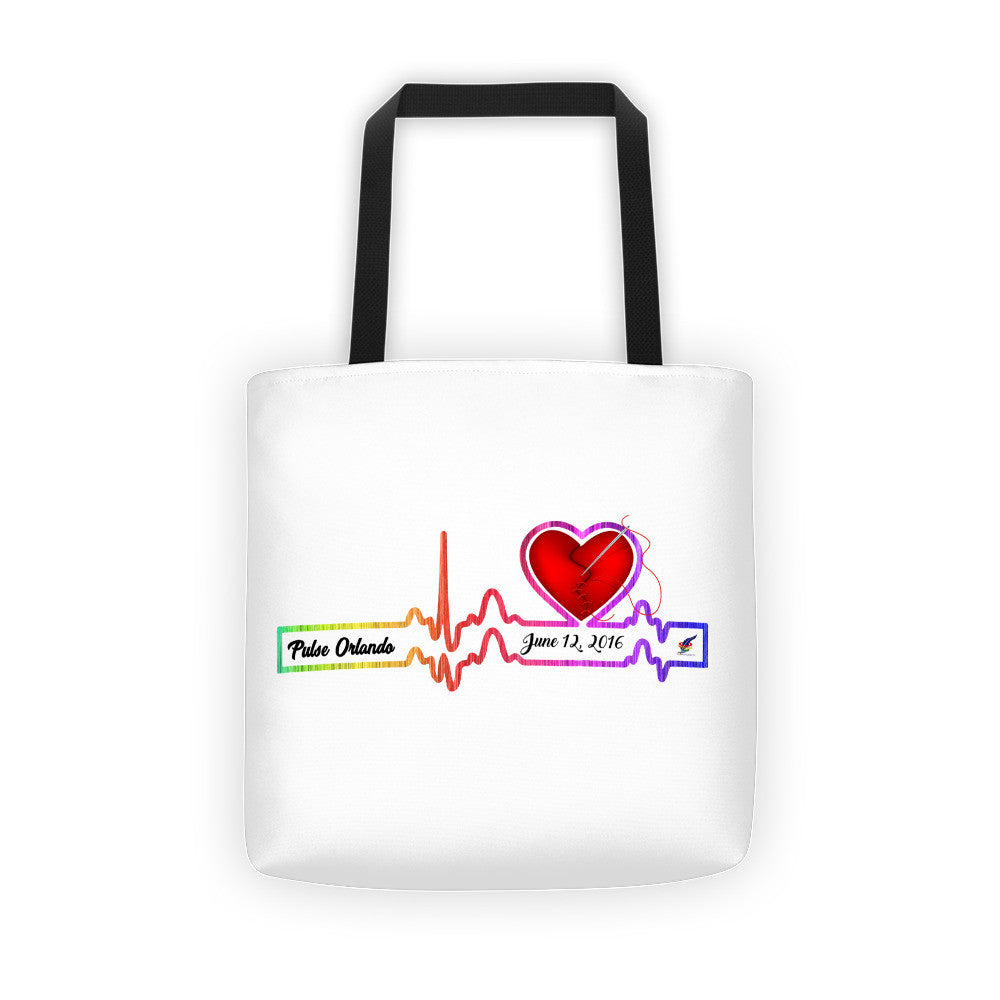 Pulse Orlando Mending a Broken Heart Tote bag