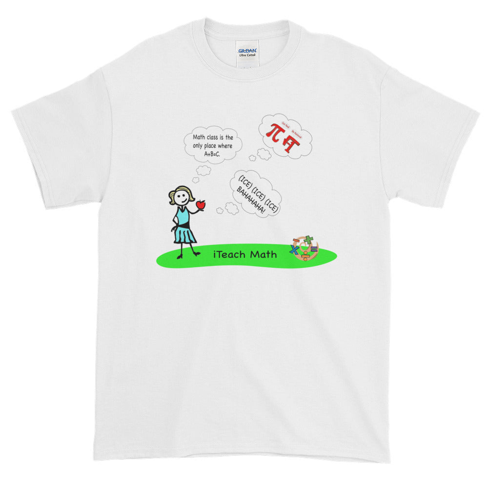 iTeach Math Short-Sleeve T-Shirt