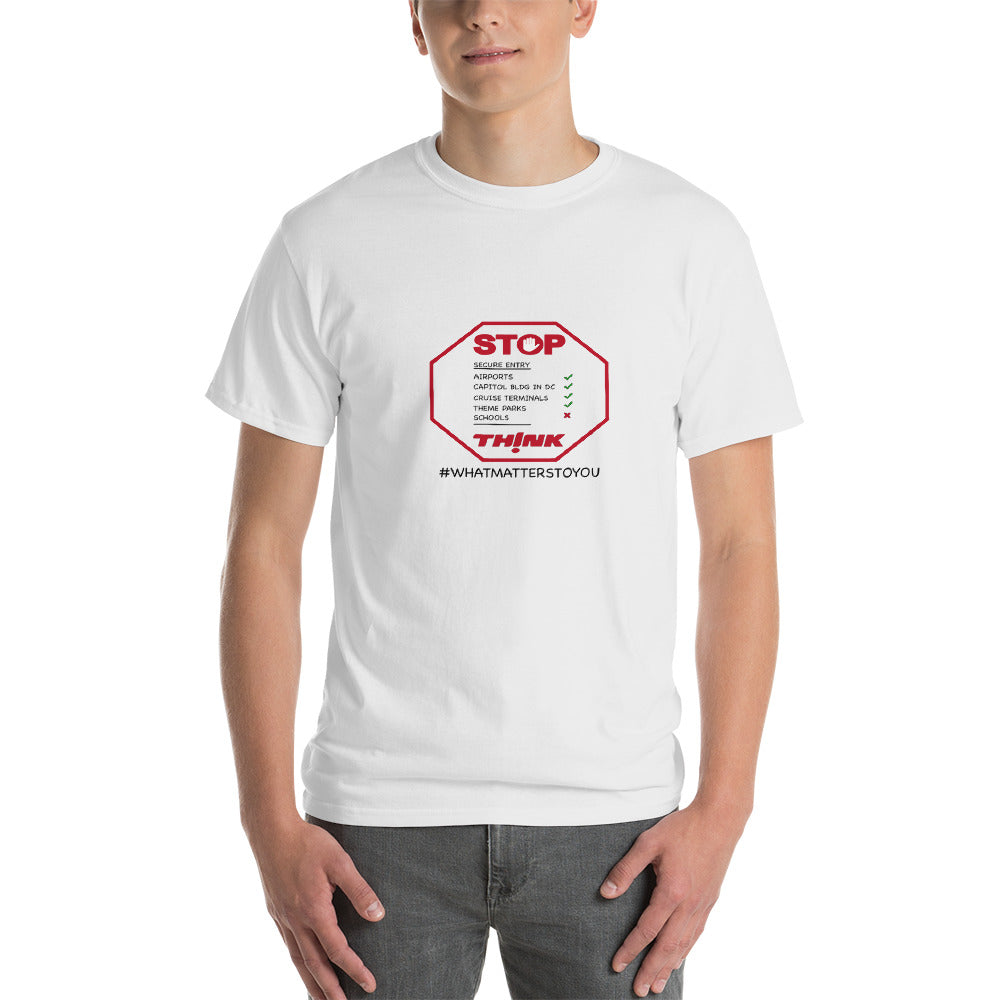 iTeach Stop and Think Short-Sleeve T-Shirt