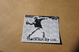 Not My OSD... - Sticker