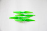 "HQ 7X4.5 V1S 7"" 2-BLADE PROPS Light Green (2CW+2CCW) - Poly Carbonate"