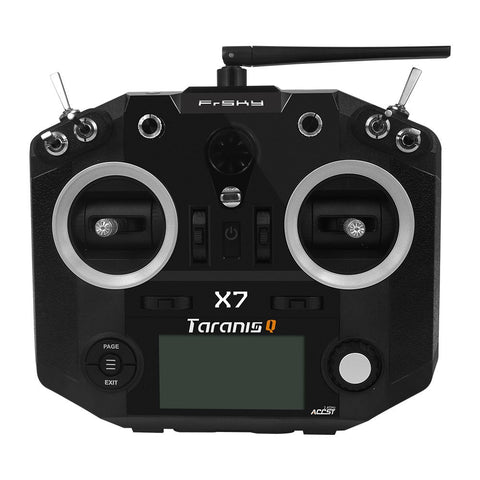 FrSky QX7 (Black) + NIMH 1800mah Batteries