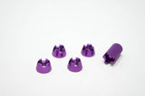 (8) Anodized TX Switch Dress-Up (DEEZ) Nuts - FULL SET