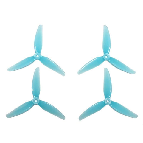 "HQ 5.1x4.1x3 5"" 3-BLADE PROPS (2CW+2CCW) - PC, Popo Compatible"