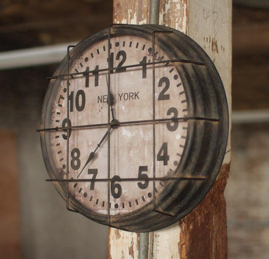 Newy York Subway Clock