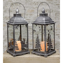 Metal Christmas Lanterns