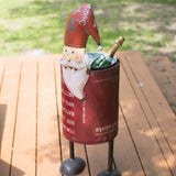 Santa Ice Bucket Wine Cooler Planter